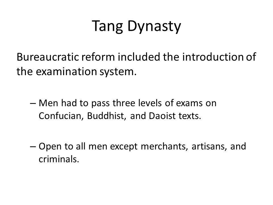 Tang women experienced both greater restrictions and more opportunities.