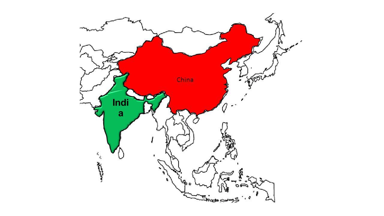 China Indi a