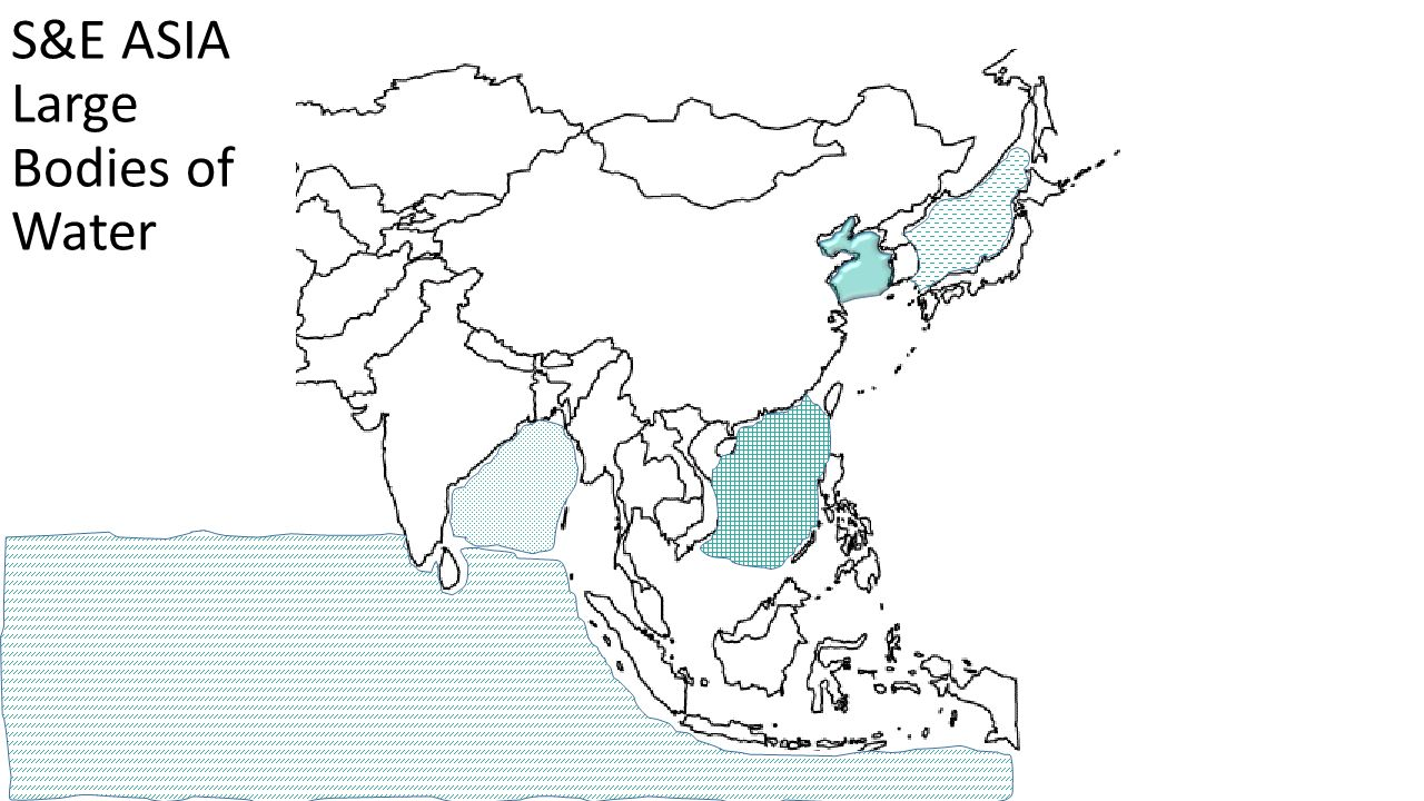 S&E ASIA Large Bodies of Water