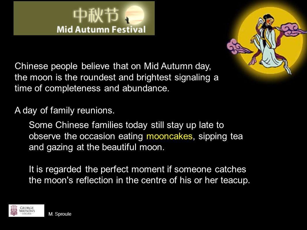 mooncakes 月饼 yue bing M. Sproule