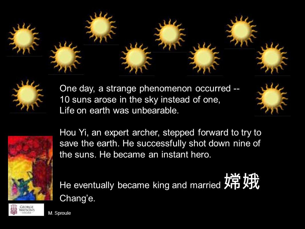 However, Hou Yi grew to become a tyrant.