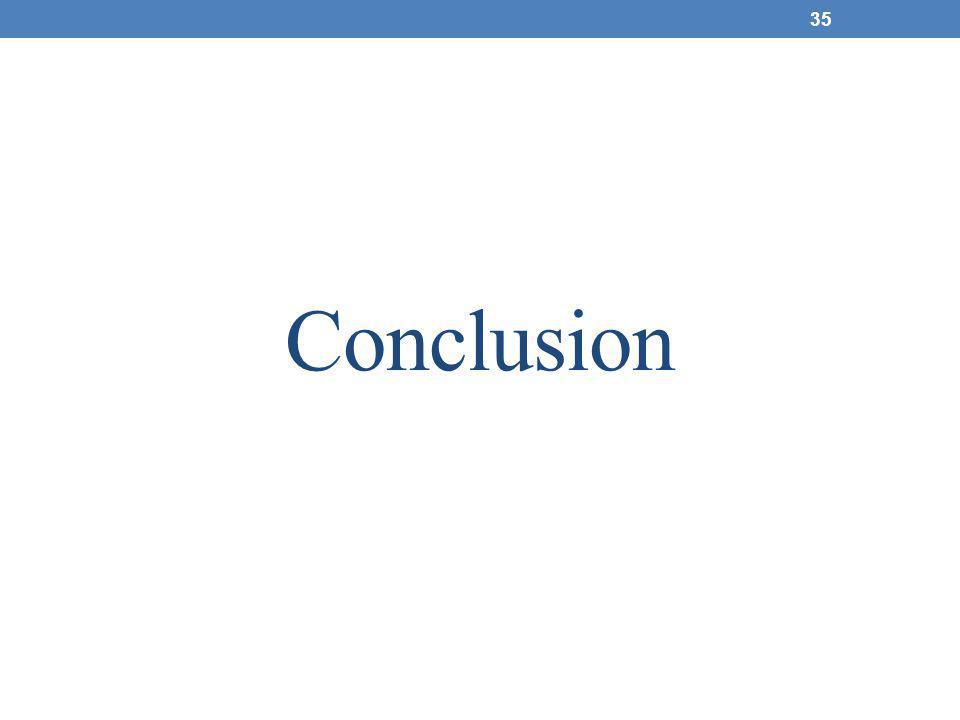 Conclusion 35