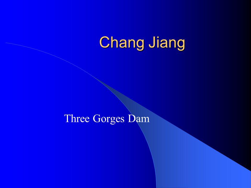 Chang Jiang Three Gorges Dam
