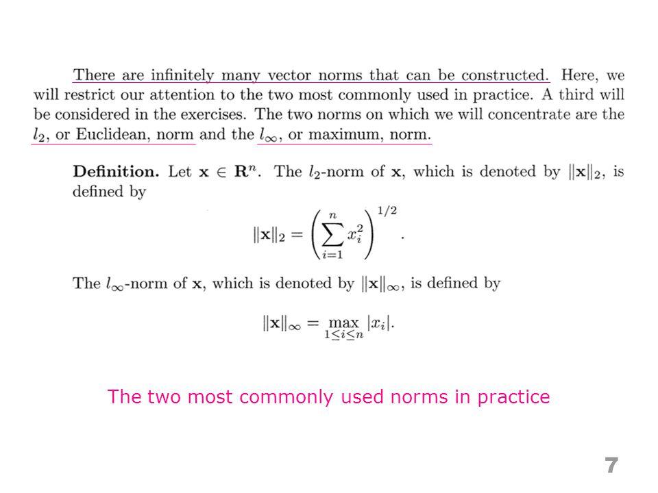 3.4 28 Error estimates and condition number