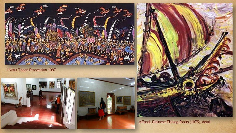 I Gusti Ketut Kobot 1917-1999) Garuda And the Battling Beasts