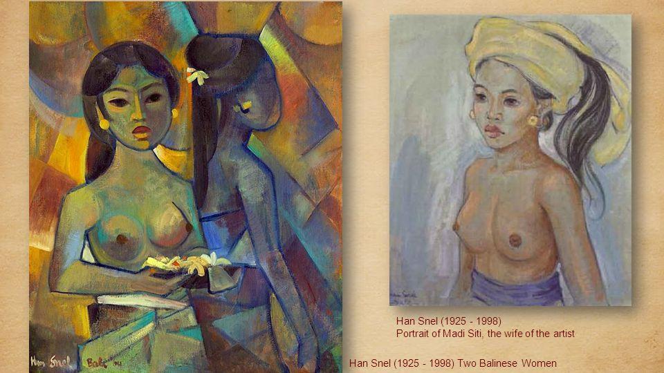 Han Snel (1925 - 1998) Balinese beauty