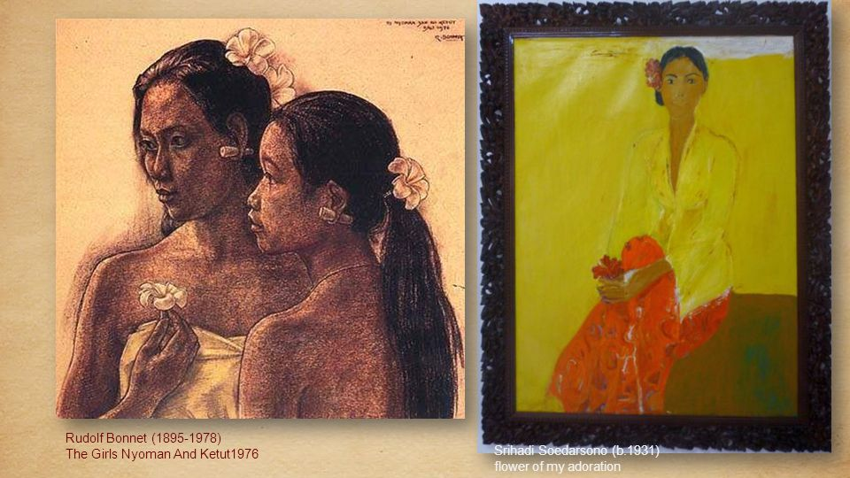 Rudolf Bonnet (1895-1978) The Temptation Of Arjuna1953