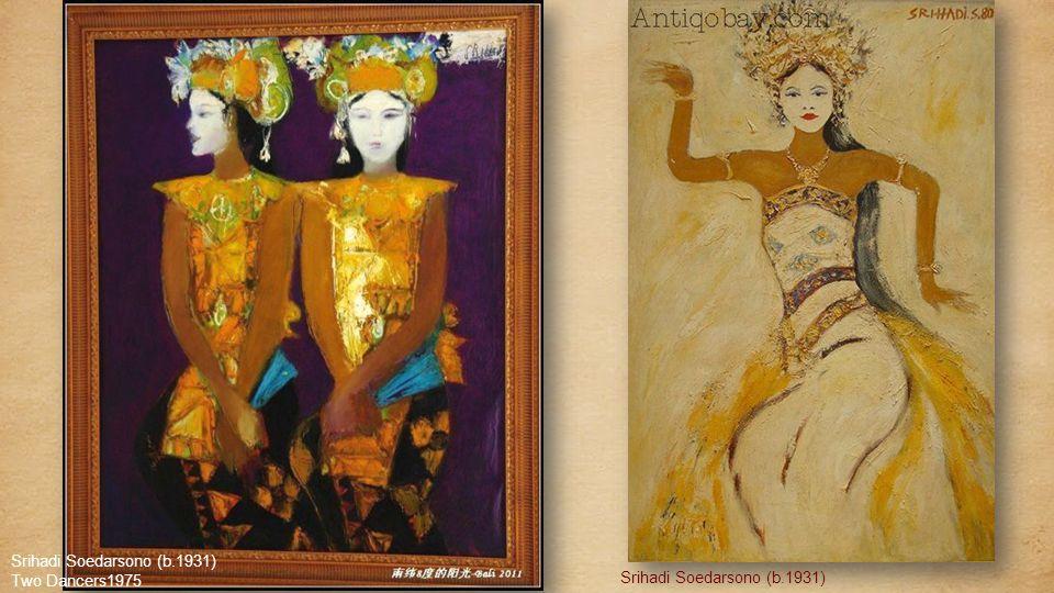 Rudolf Bonnet (1895-1978) The Girls Nyoman And Ketut1976 Srihadi Soedarsono (b.1931) flower of my adoration
