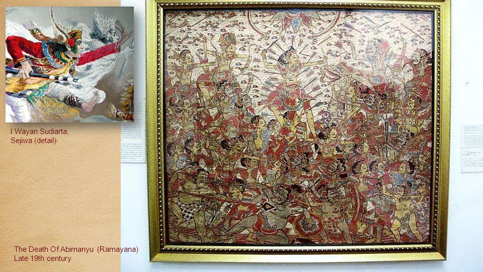 Srihadi Soedarsono (b.1931) Two Dancers1975