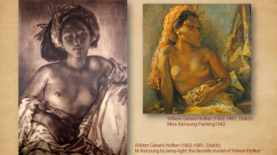 Willem Gerard Hofker (1902-1981, Dutch) Village life in Sanur Willem Gerard Hofker (1902-1981) Mekiis