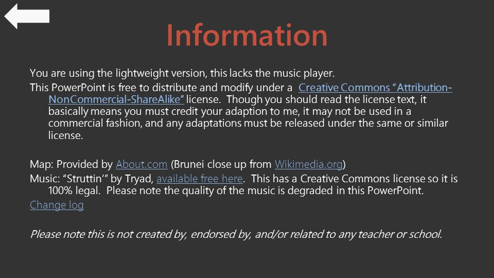 Information You are using the lightweight version, this lacks the music player.