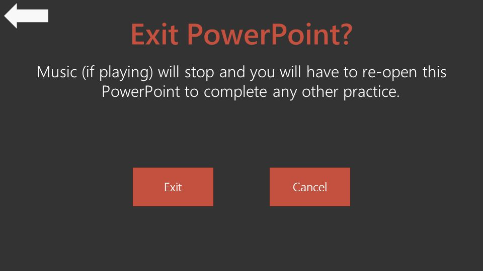 Exit PowerPoint.