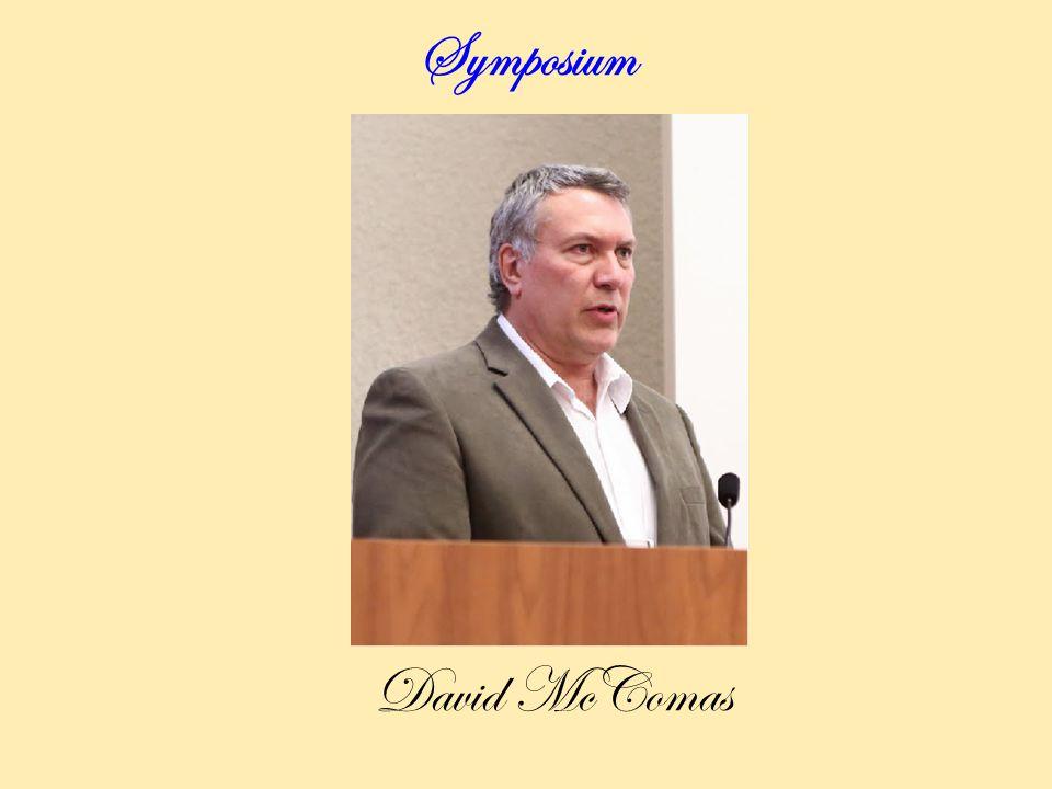 Symposium David McComas