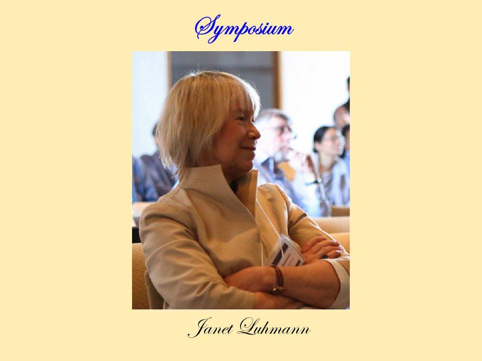 Symposium Janet Luhmann