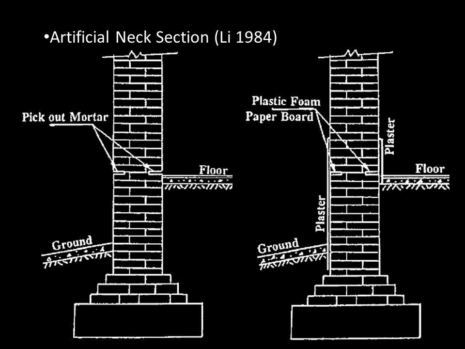 Artificial Neck Section (Li 1984)
