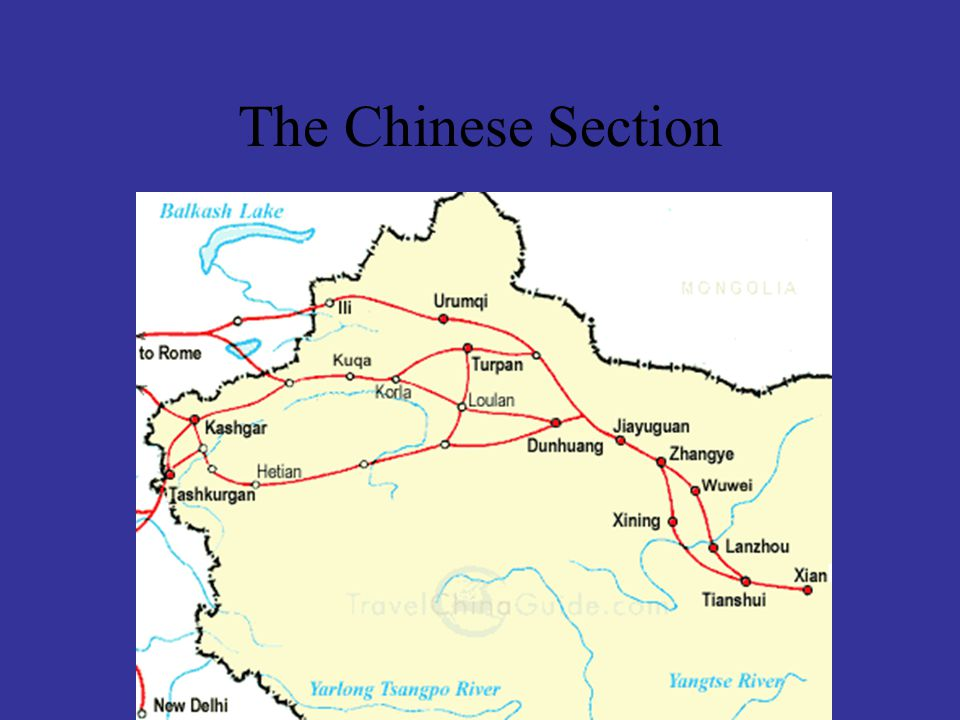 The Chinese Section