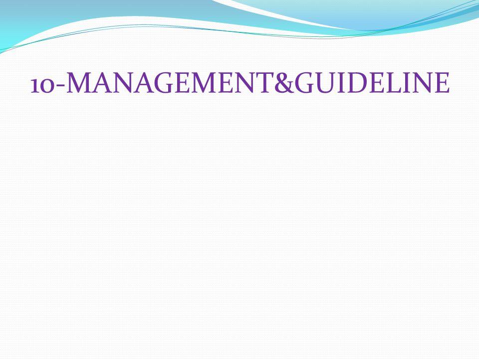 10-MANAGEMENT&GUIDELINE