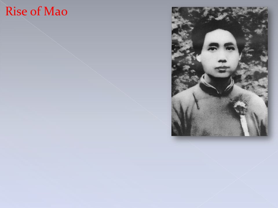 Rise of Mao