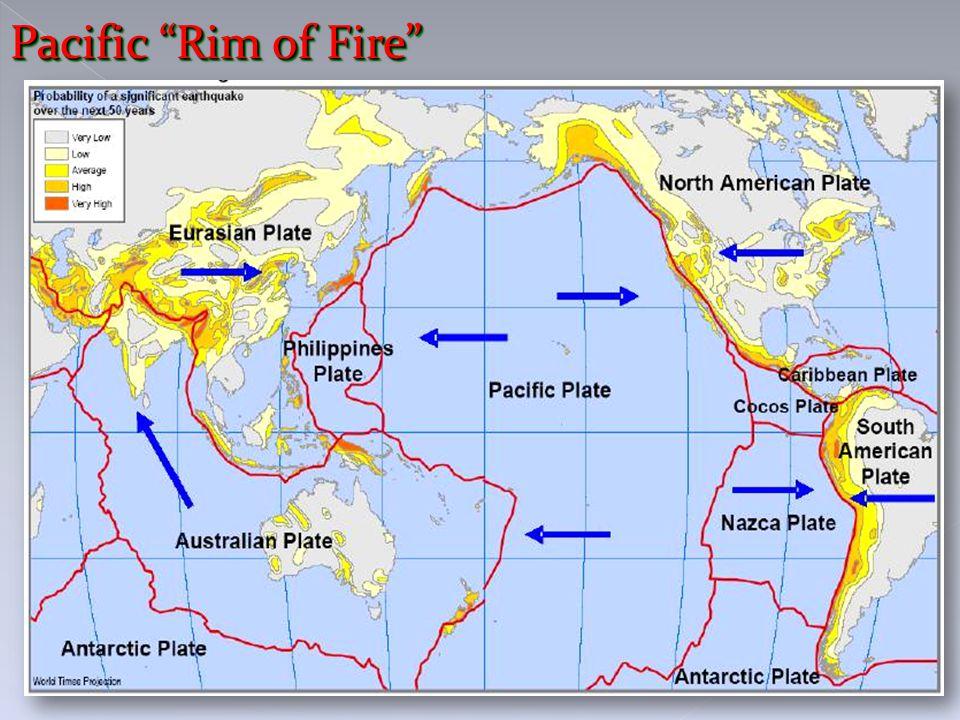 """Pacific """"Rim of Fire"""""""