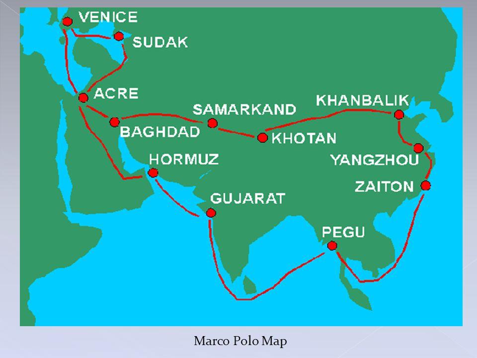 Marco Polo Map