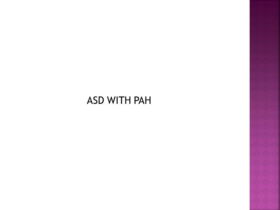 ASD WITH PAH
