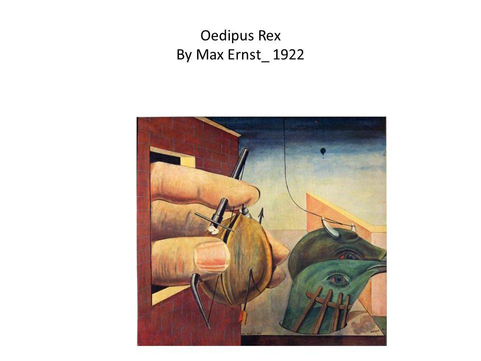 Oedipus Rex By Max Ernst_ 1922