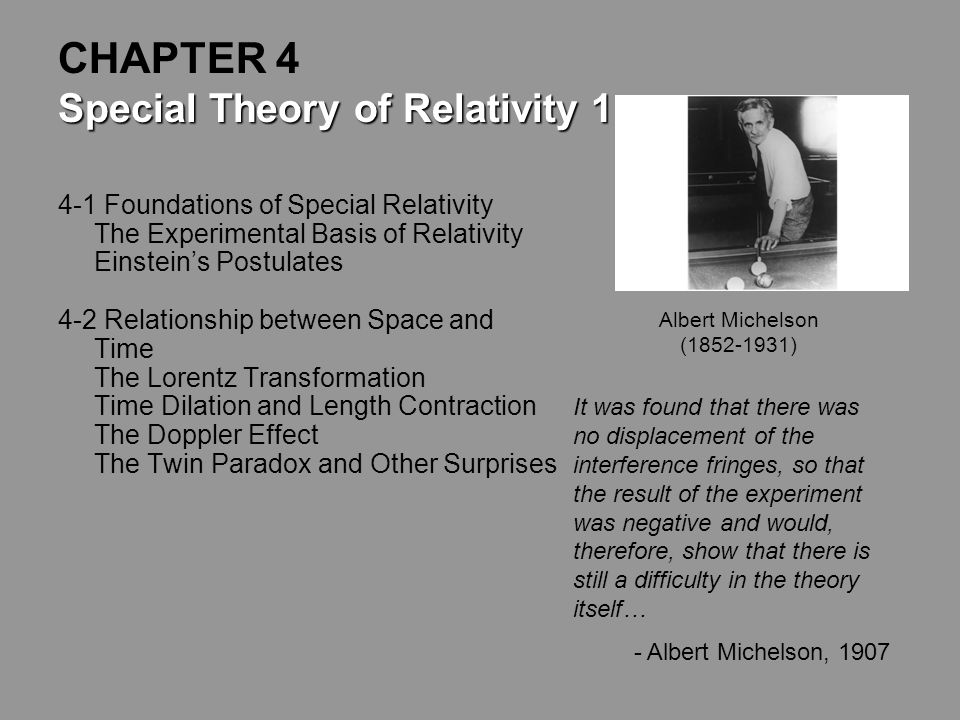 Physics 334 Modern Physics Credits: Material for this PowerPoint was adopted from Rick Trebino's lectures from Georgia Tech which were based on the te