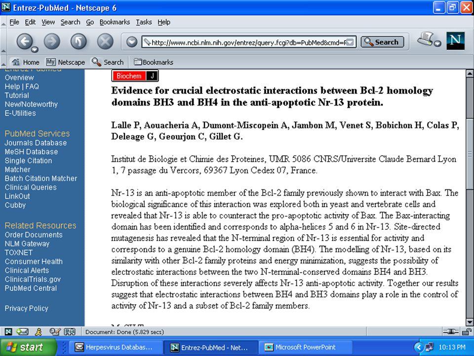 ANSC644 Bioinformatics-Database Mining 42