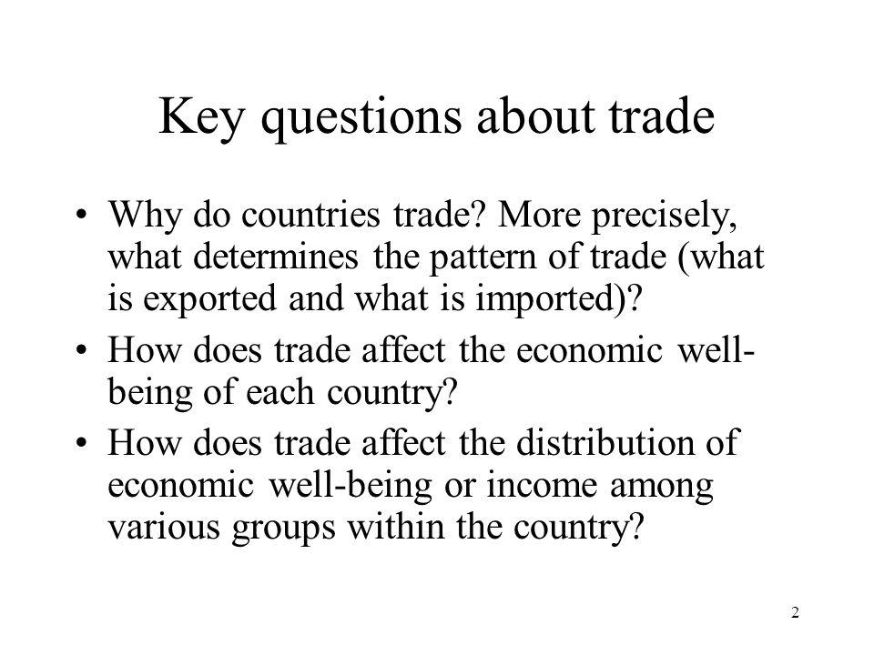 23 3. David Ricardo's theory of comparative advantage