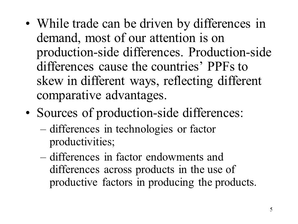 36 Hence, as one industry expands at the expense of others, increasing amounts of the other products must be given up to get each extra unit of the expanding industry's product.