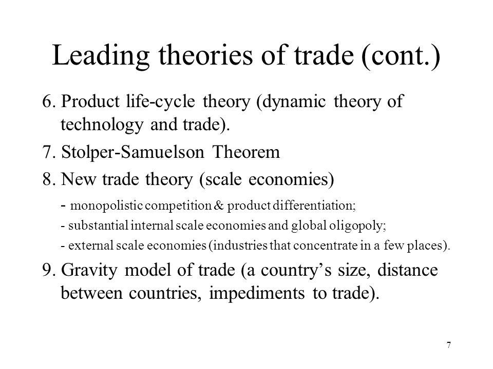 8 1. Mercantilism