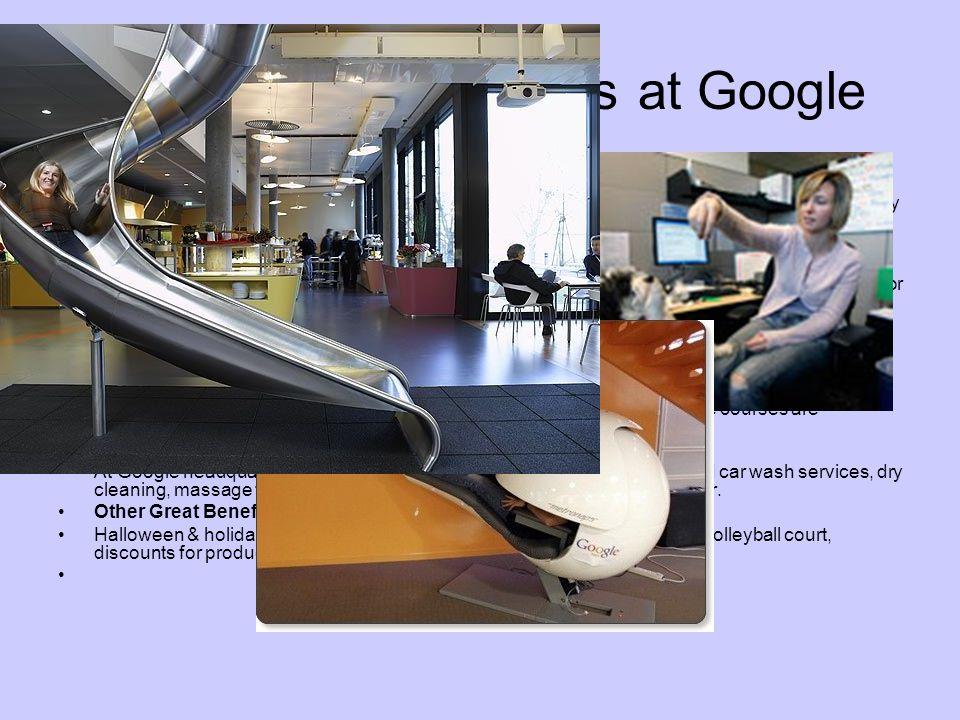 Nonmonetary Benefits at Google Food Hungry.