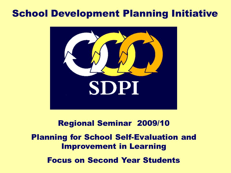 Planning for improved student engagement and attainment in Second Year Aims of this session:  To identify and prioritise issues of concern  To provide a brief overview of key areas of relevant research  To develop a framework for self-evaluation of current practice  To identify examples of current good practice