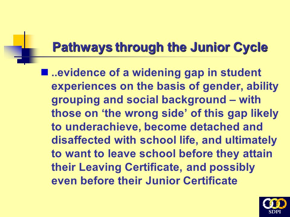 1. Curriculum Organisation Streaming / Banding / Mixed Ability Subject Choice Subject Levels