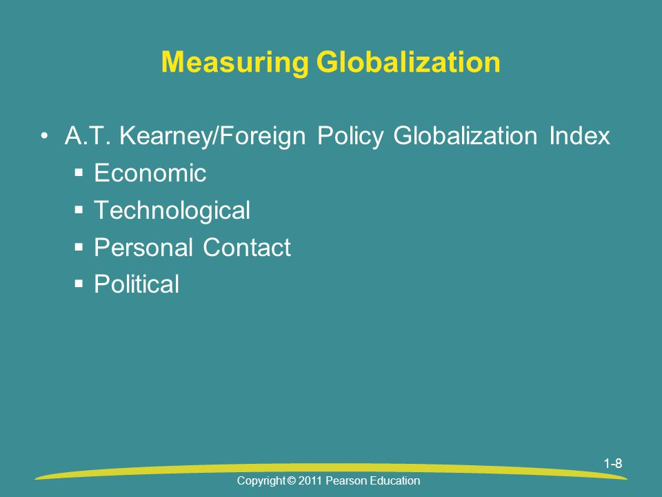 1-8 Measuring Globalization A.T.