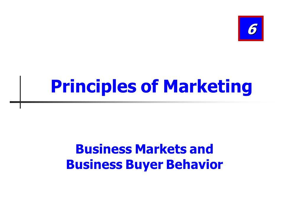 Business Buyer Behavior Major Influences on Business Buyers Organizational factors Objectives Policies Procedures Structure Systems 6-22