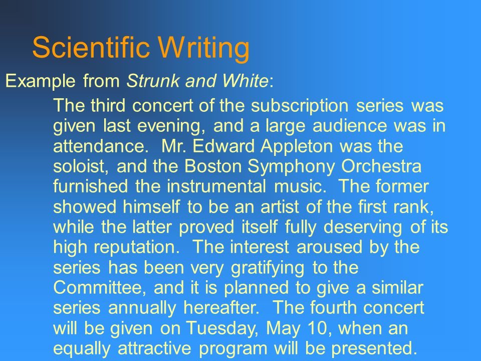 Scientific Writing Organizing your thoughts… Do you have a system.