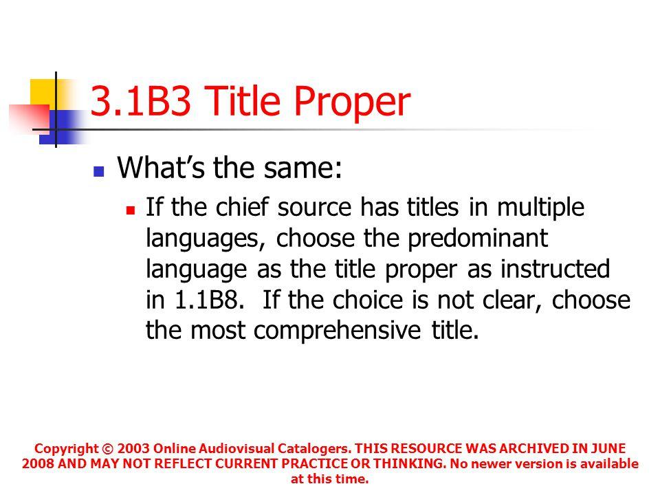 Copyright © 2003 Online Audiovisual Catalogers.