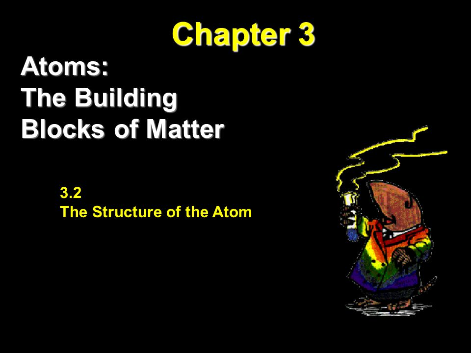 Chapter 3 Atoms: The Building Blocks of Matter The Atom: From Philosophical Idea to Theory 3.2 The Structure of the Atom