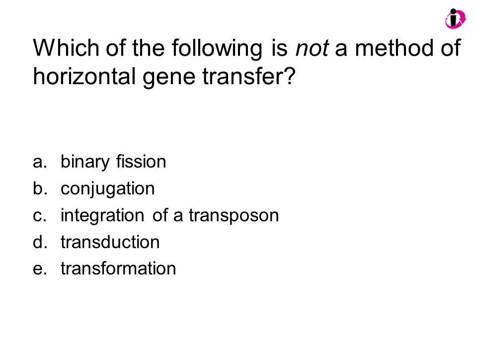 Which of the following is not a method of horizontal gene transfer.
