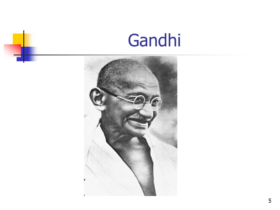 5 Gandhi