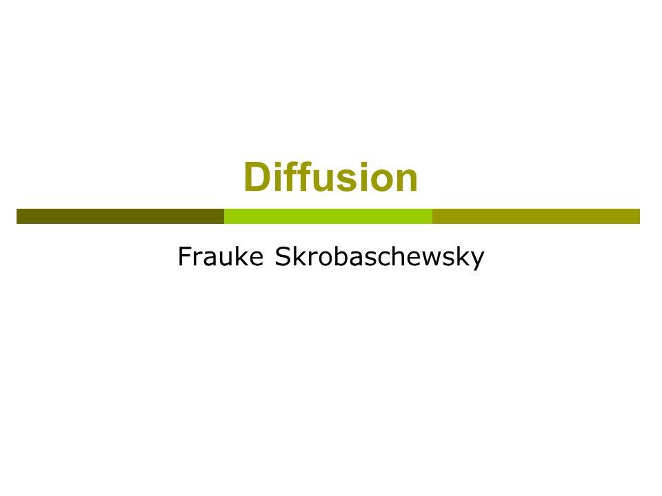 Diffusion Frauke Skrobaschewsky