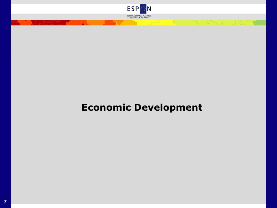 7 Economic Development