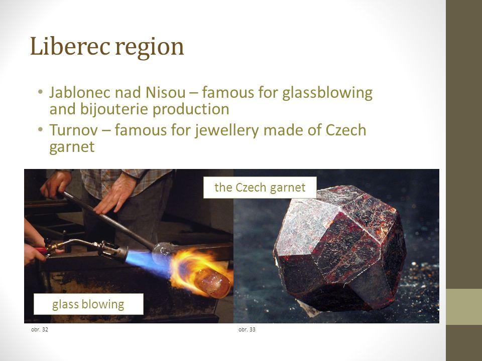 Liberec region obr. 34 a medieval castle and a Renaissance chateau on a traprock Frýdlant