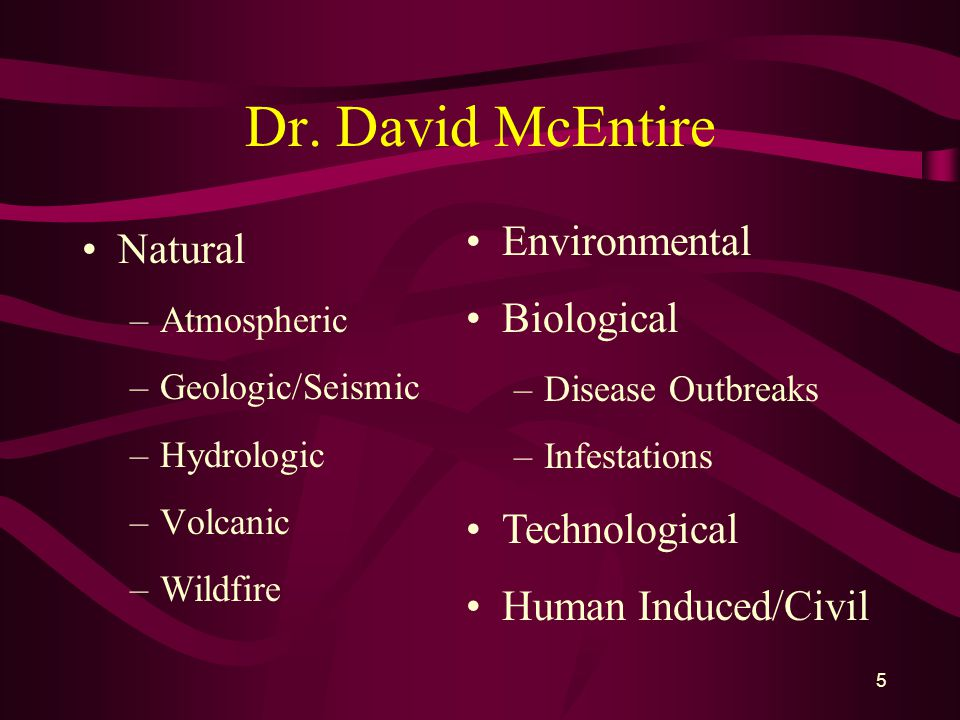 5 Dr.