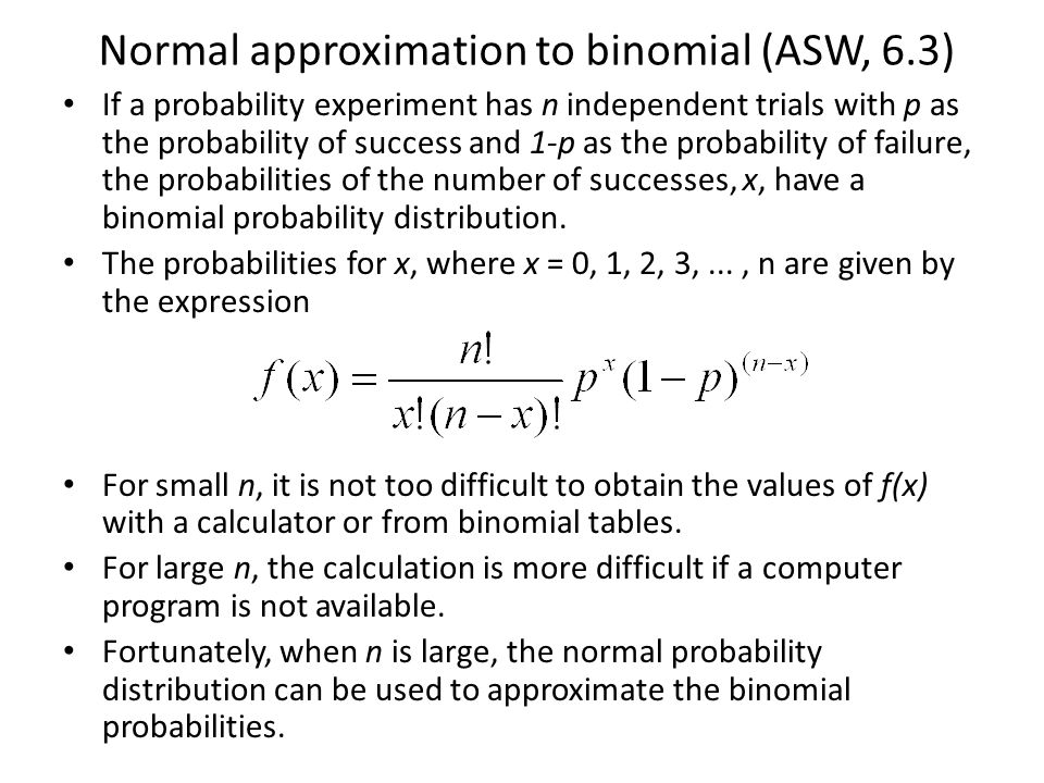 Which normal distribution.