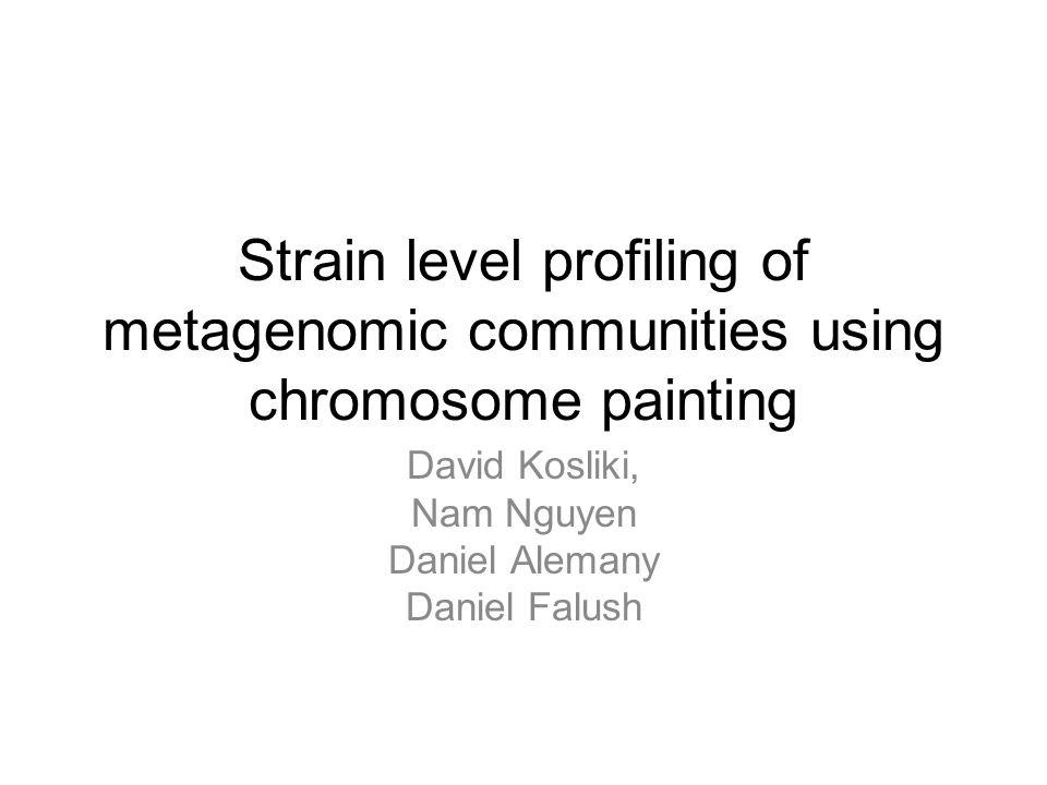 Conclusions: ▶ Error structure, mixture models, noise decompositions.