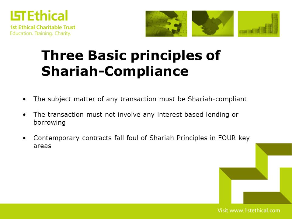 Why is Shariah-Compliance Important.