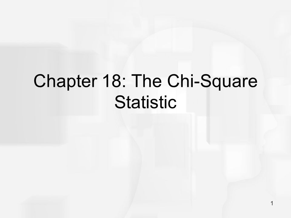 2 Parametric and Nonparametric Tests Chapter 18 introduces two non- parametric hypothesis tests using the chi-square statistic: the chi-square test for goodness of fit and the chi-square test for independence.