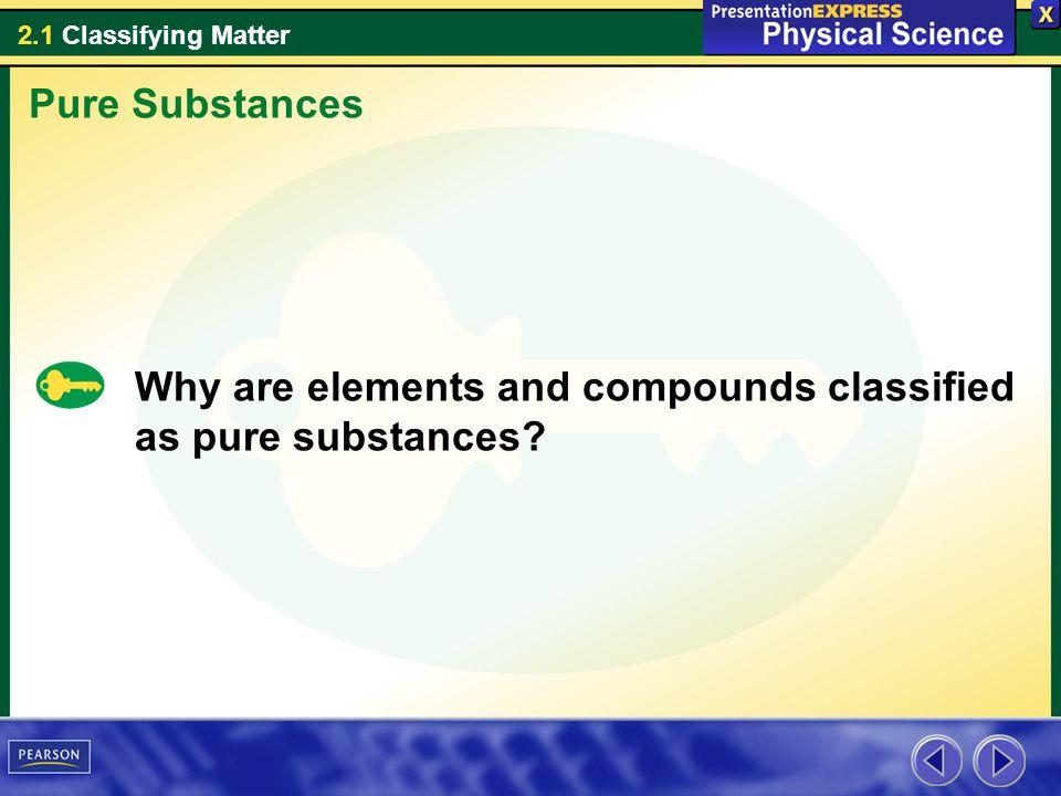 2.1 Classifying Matter These liquids represent three categories of mixtures.